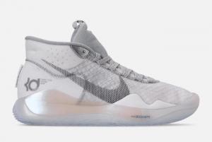 AR4229 101 Nike KD 12 Wolf Grey 2019 For Sale 300x201
