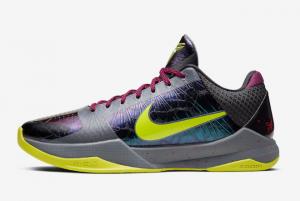2020 NBA 2K20 x Nike Kobe 5 Protro Chaos Black Dark Grey Bright Crimson Cyber 300x201
