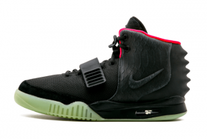 508214 006 Nike Air Yeezy 2 NRG Black Solar Red 2012 For Sale 300x201