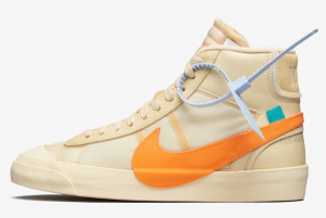 AA3832 700 Off White x Nike Blazer Mid All Hallows Eve 2018 For Sale 300x201