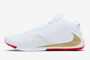 BQ5422 100 Nike Zoom Freak 1 Roses White Metallic Gold University Red 2019 For Sale 300x201