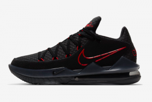 CD5007 001 Nike LeBron 17 Low Bred 2020 For Sale 300x201