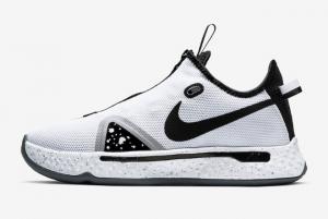 CD5079 100 Nike PG 4 Oreo White Black Pure Platinum 2020 For Sale 300x201