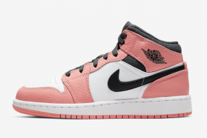 pink and white air jordans 1s
