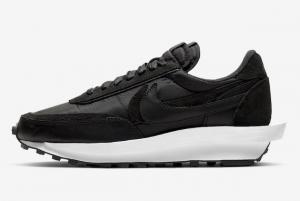 BV0073 002 sacai x Nike LDWaffle Black Nylon 2020 For Sale 300x201
