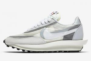 BV0073 100 Sacai x Nike LDWaffle Wolf Grey 2019 For Sale 300x201