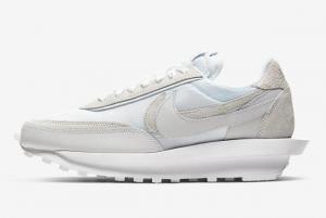 BV0073 101 sacai x Nike LDWaffle White Nylon 2020 For Sale 300x201