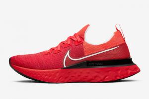CD4371 600 Nike React Infinity Run Flyknit University Red 2019 For Sale 300x201