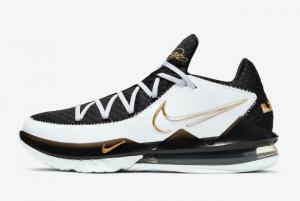 CD5007 101 Nike LeBron 17 Low Metallic Gold 2020 For Sale 300x201