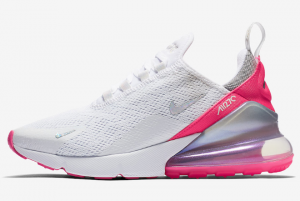 CI1963 191 Nike WMNS Air Max 270 White Pink Grey 2020 For Sale 300x201