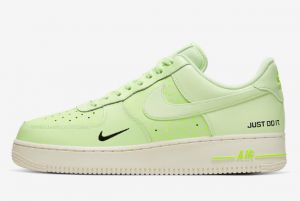 CT2541 700 Nike Air Force 1 Low Just Do It Neon Yellow 2019 For Sale 300x201
