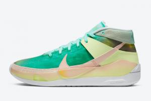2020 Nike KD 13 Chill Green Multicolor 300x201