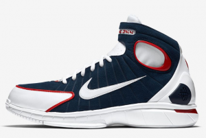 308475 400 Nike Air Zoom Huarache 2K4 Midnight Navy University Red 2016 For Sale 300x201