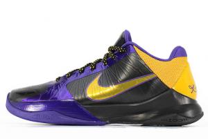 386430 071 Nike Zoom Kobe 5 X Lakers Black De Purple 2020 For Sale 300x201
