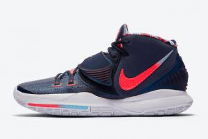 BQ4630 402 Nike Kyrie 6 USA 2020 For Sale 300x201