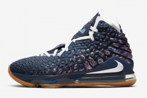 CD5056 400 Nike LeBron 17 College Navy 2020 For Sale 300x201