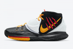 CJ1290 001 Nike Kyrie 6 Bruce Lee Black 2020 For Sale 300x201