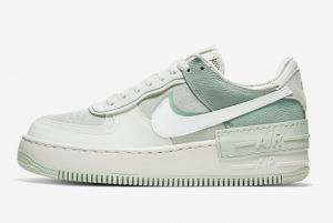 CW2655 001 Wmns Nike Air Force 1 Shadow Spruce Aura White Pistachio Frost 2020 For Sale 300x201