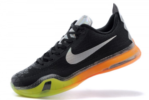 2020 Nike Kobe 10 All Star Black Multicolor Volt 300x201