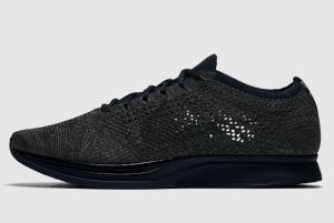 526628 009 Nike Flyknit Racer Triple Black 2016 For Sale 300x201