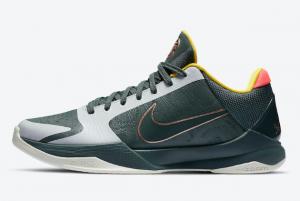 CD4991 300 Nike Kobe 5 Protro EYBL Forest Green 2020 For Sale 300x201