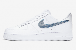 CW7567 100 Nike Air Force 1 Low White Thunderstorm Blue 2020 For Sale 300x201