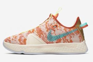 Latest NBA 2K x Nike PG 4 Digi Camo GE 2020 For Sale 300x201