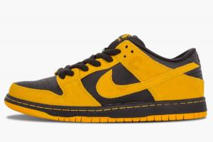 304292 706 Nike SB Dunk Low Pro Iowa University Gold Black 2015 For Sale 300x200