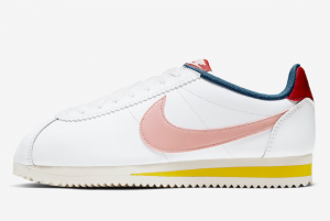 807471 114 Nike Cortez Summit White Gym Red Chrome Yellow Coral Stardust 2020 For Sale 300x201