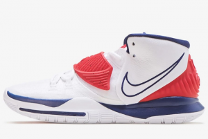 BQ4630 102 Nike Kyrie 6 USA 2020 For Sale 300x201