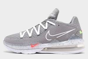CD5007 004 Nike LeBron 17 Low Particle Grey 2020 For Sale 300x201