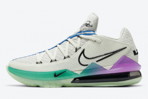 CD5007 005 Nike LeBron 17 Low Glow in the Dark 2020 For Sale 300x201