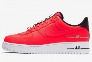 CJ1379 600 Nike Air Force 1 Double Air Red Black White 2020 For Sale 300x201