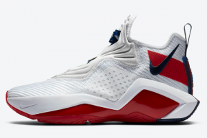CK6024 100 Nike LeBron Soldier 14 White University Red Team Red 2020 For Sale 300x201