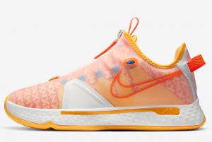 2020 Gatorade x Nike PG 4 Citrus Basketball Shoes 300x201