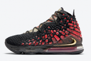 CD5054 001 Nike LeBron 17 Courage 2020 For Sale 300x201
