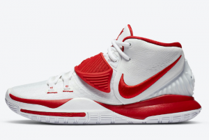 CZ4938 100 Nike Kyrie 6 University Red 2020 For Sale 300x201