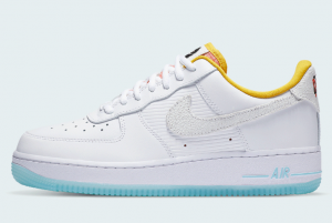 CZ8132 100 Nike Air Force 1 Low White Yellow Clear 2020 For Sale 300x201