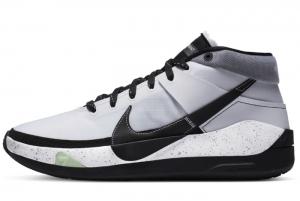 Latest Nike KD 13 Brooklyn Nets White Black 2020 For Sale 300x201