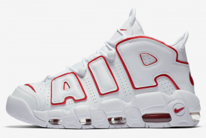 921948 102 Nike Air More Uptempo White Varsity Red 2018 For Sale 300x201