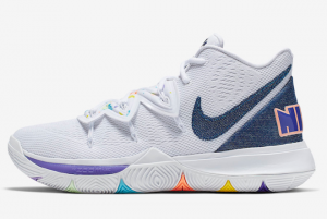 AO2919 101 Nike Kyrie 5 Have A Nike Day 2019 For Sale 300x201