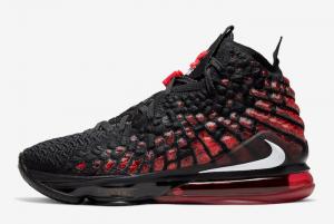 BQ3177 006 Nike LeBron 17 Infrared 2020 For Sale 300x201