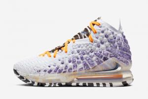 BQ3177 101 Nike LeBron 17 Bron 2K Playoffs 2020 For Sale 300x201