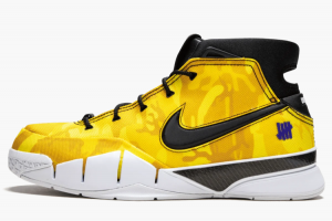 BV1207 901 Undefeated x Nike Kobe 1 Protro Lakers PE 2018 For Sale 300x200