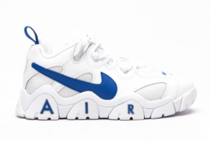 CD7510 100 Nike Air Barrage Low White Hyper Blue 2020 For Sale 300x201