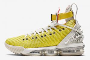 CI1145 700 Nike LeBron 16 HFR Bright Citron 2019 For Sale 300x201