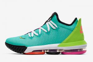 CI2668 301 Nike LeBron 16 Low Hyper Jade 2019 For Sale 300x201