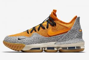 CI3358 800 Nike LeBron 16 Low Safari 2019 For Sale 300x201