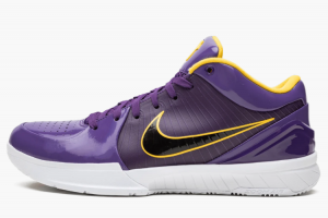 CQ3869 500 Undefeated x Nike Kobe 4 Protro Lakers 2019 For Sale 300x200