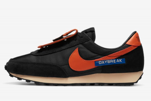DC5206 010 Nike Daybreak SP Pocket Black Orange 2020 For Sale 300x201